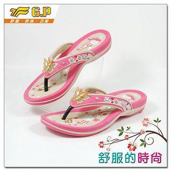 G.P 時尚精美水鑽女鞋 G8160W-44-粉杏色