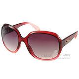 CHLOE太陽眼鏡 法式經典女款大框 (漸層紅) #CL2227 C03