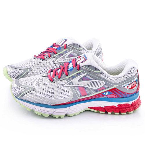 BROOKS 女款 Ravenna 6 輕量支撐型寬楦跑鞋BK1201821D157-灰紅