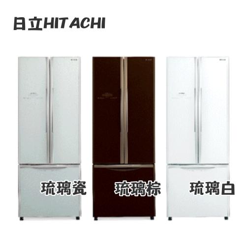 【日立HITACHI】421L 變頻三門電冰箱 RG430