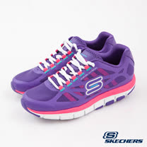 SKECHERS (女) 跑步系列 智慧生活 - 99999871PUR