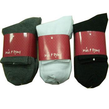 M&P 1/2學生襪(22~24cm)*5雙*3包組