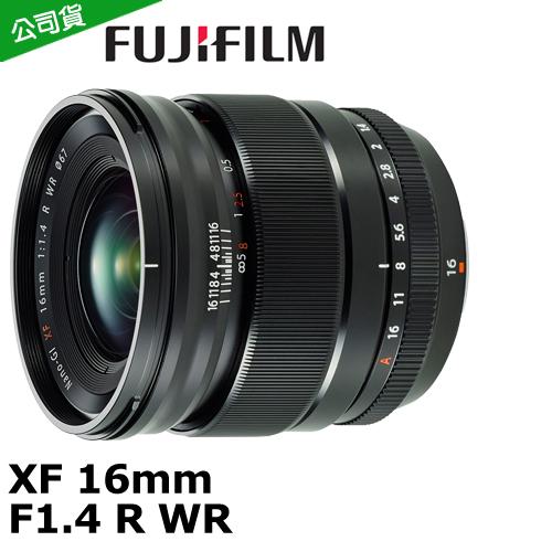 FUJIFILM XF 16mm F1.4 R WR ^( 貨^).~送保護鏡^(67^)
