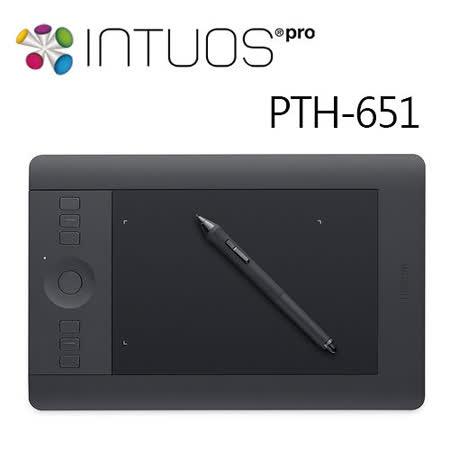 Wacom intuos Pro 專業繪圖板 Medium PTH-651/K1-C