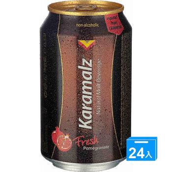 卡麥隆黑麥汁330ml*24罐-石榴風味
