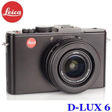德國《Leica徠卡》 F1.4超大光圈數位相機(平行輸入) D-LUX 6-黑
