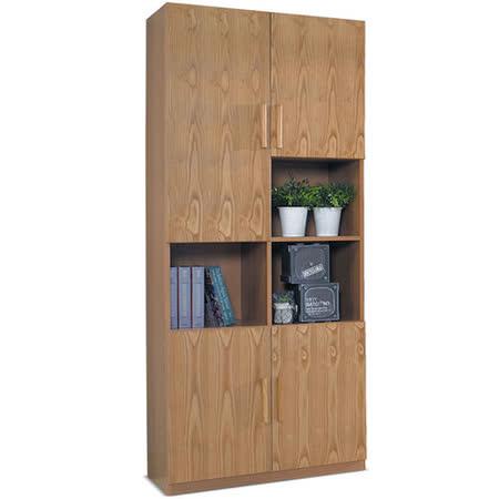 【私心大推】gohappyMY傢俬 系統設計木質四門2.7尺書櫃評價如何sogo 忠孝 館