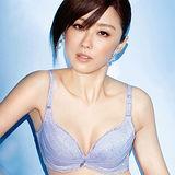 【Audrey】輕涼V弧蝶 大罩杯B-E罩內衣(水漾紫)