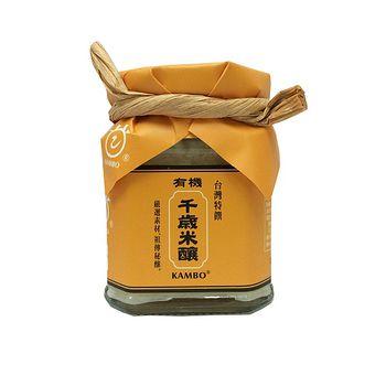 桃米泉甘寶有機千歲米釀220g
