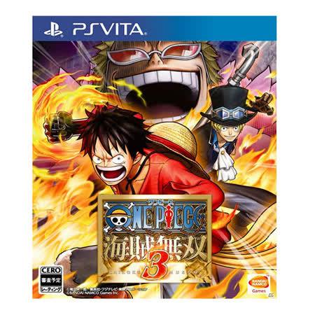 SONY PS Vita遊戲《航海王:海賊無雙 3》亞洲中文版