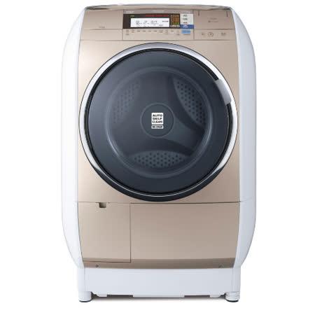 【日立HITACHI】13公斤蒸氣風熨斗洗脫烘滾筒洗衣機SFBD3900T 左開