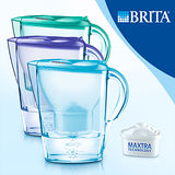 【德國BRITA】Marella 馬利拉2.4L花漾壺-內含一入濾芯
