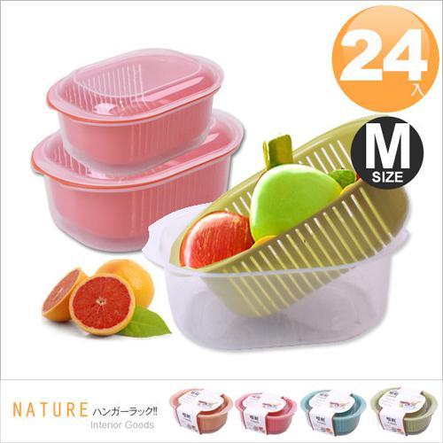 E&J 嚐鮮蔬果盒-中 (24入隨機色)