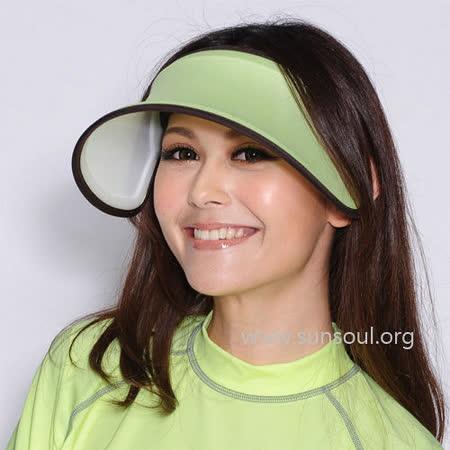 【SUNSOUL】光能帽-伸縮艷陽帽(黃光)