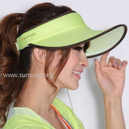 【SUNSOUL】光能帽-大太陽帽(黃光)