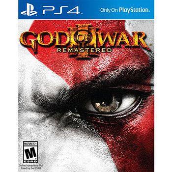 SONY PS4遊戲 戰神 3 強化版 中英文合版