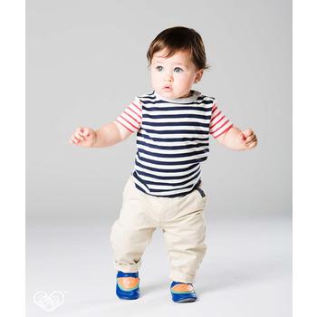 英國 shooshoos 安全無毒真皮手工鞋/學步鞋/嬰兒鞋_被咬一口的西瓜(公司貨)