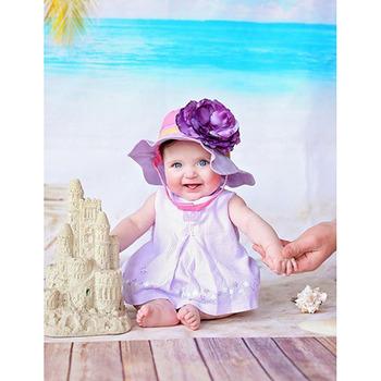 美國Jamie Rae 100%純棉帽_薰衣草紫遮陽帽+薰衣草紫玫瑰(JRSHRLG01)