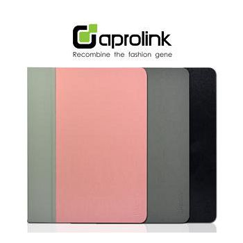 aprolink iPAD/iPAD2 多功能折合式磁力皮套 具螢幕開關功能