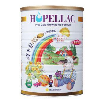 Hopellac喜多兒 新生代(金配方)幼兒成長配方 900g(1罐)