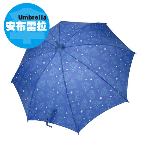 ~安布雷拉 Umbrella~新世界喬巴超人抗UV不透光兒童自動傘^(WM14030 ^)
