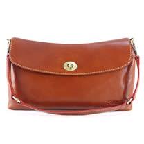 Sika義大利時尚2用真皮小提包M6158-01/深椰褐