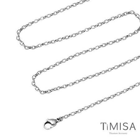 【TiMISA】動感(S) 純鈦項鍊
