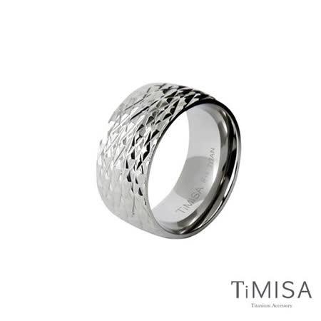 【TiMISA】永恆閃耀-寬版 純鈦戒指
