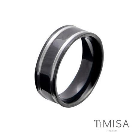 【TiMISA】戀愛軌跡(共兩色) 純鈦戒指