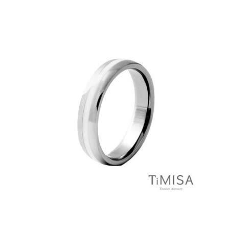 【TiMISA】真愛宣言 純鈦戒指-白
