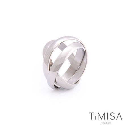 【TiMISA】環繞幸福 純鈦墜飾/戒指