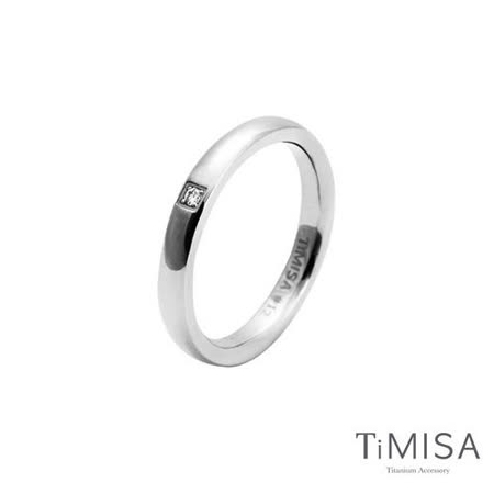 【TiMISA】愛戀 純鈦戒指