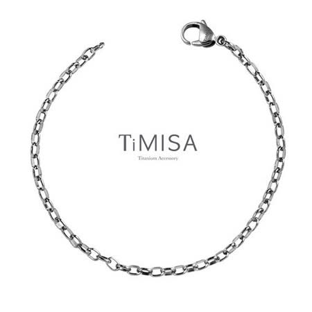 【TiMISA】動感(S) 純鈦手鍊