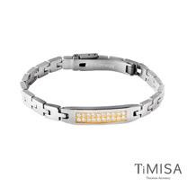 【TiMISA】永恆真愛-金 純鈦鍺手鍊