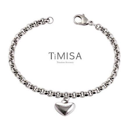 【TiMISA】真心風之戀(S) 純鈦手鍊