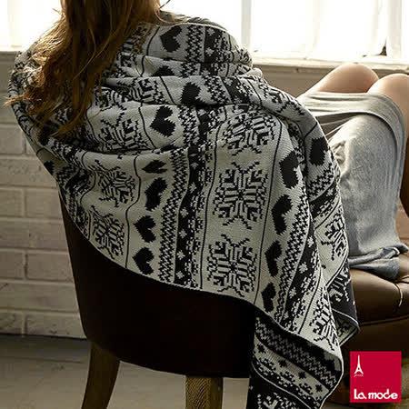 La Mode寢飾 Xmas針織披毯