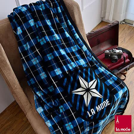 La Mode寢飾 雙人超細雪芙蓉毯(英倫)