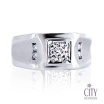City Diamond『爵士藍調』32分男鑽戒