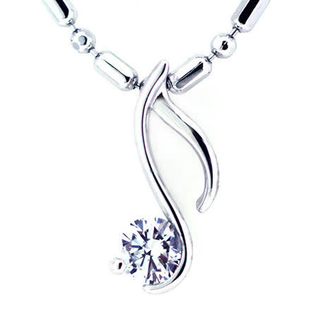 City Diamond『迷幻音符』K金項鍊