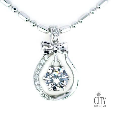 City Diamond『心漾』K金項鍊
