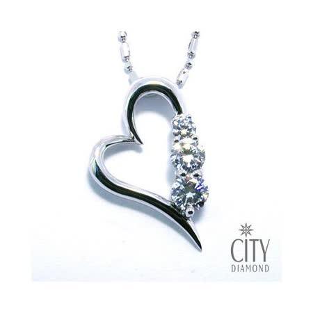 City Diamond『勾心』K金項鍊