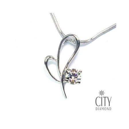City Diamond『心吻』K金項鍊