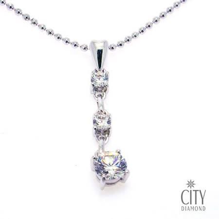 City Diamond『晨露』K金項鍊