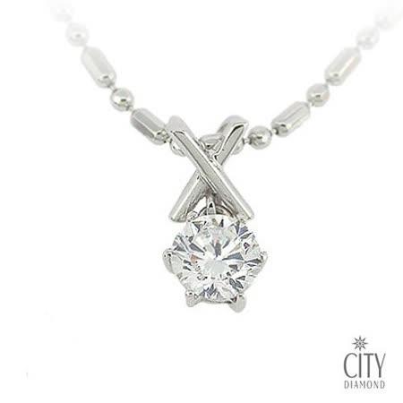 City Diamond『OX遊戲』K金項鍊