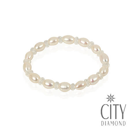 City Diamond 天然珍珠手鍊/手環