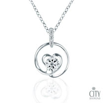 City Diamond 『茵夢湖』 K金項鍊