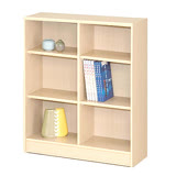 六格矮書櫃-白楓木