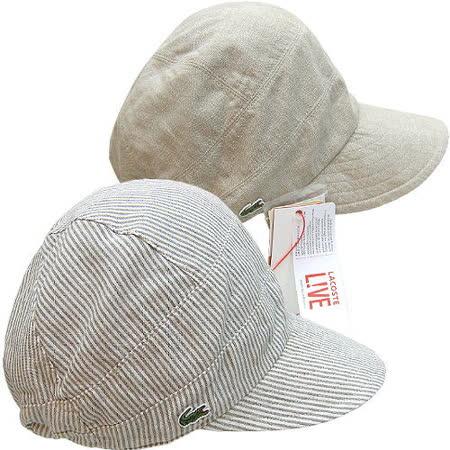 【波克貓哈日網】雙面UV棒球帽◇LACOSTE◇《優雅駝+條紋》~日本製