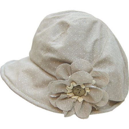 【波克貓哈日網】造型淑女帽◇MIOOGGI◇《花朵裝飾》