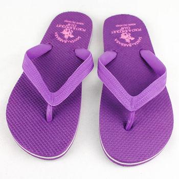 S.B POLO 橡膠人字拖女款-紫色(24~26cm)